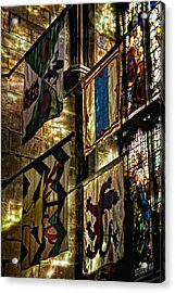 St. Giles Cathedral Edinburgh Acrylic Print by Jim Dohms