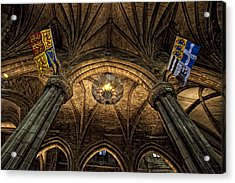 St. Giles Cathedral Acrylic Print by Jim Dohms