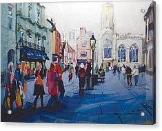St Helen Square York Acrylic Print by Neil McBride