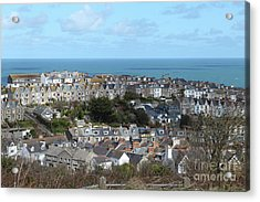Acrylic Print featuring the photograph St Ives, Cornwall, Uk by Nicholas Burningham