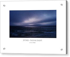 St Ives - Fading Light Acrylic Print
