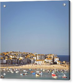 Acrylic Print featuring the photograph St Ives Harbour by Lyn Randle