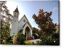Acrylic Print featuring the photograph St. James V4 Fairhope Al by Michael Thomas
