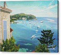 St Jean Cap Ferrat 2 Acrylic Print