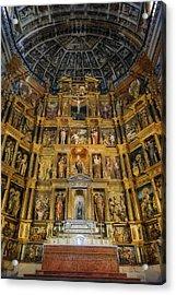 St Jerome Monastery Interior Acrylic Print