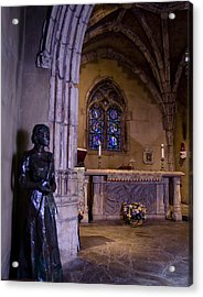 St Joan Chapel Acrylic Print