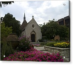 St Joan Of Arc Chapel Acrylic Print