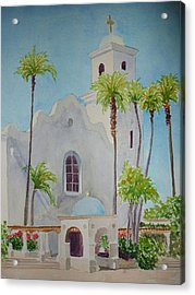 St John Of The Cross Acrylic Print by Ally Benbrook