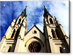 St. John The Baptist Cathedral Acrylic Print by Dana  Oliver