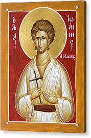 St John The Russian Acrylic Print