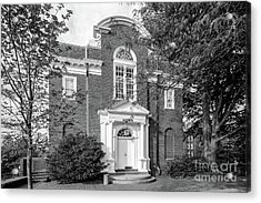 St. John's College Annapolis Randall Hall Acrylic Print by University Icons