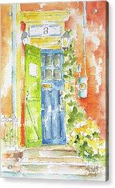 St Johns Jelly Bean At 8 Wood Street Acrylic Print