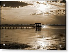 St. Johns River Acrylic Print by Anthony Baatz