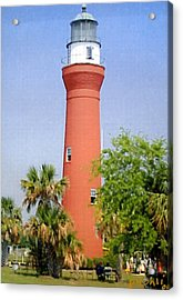 Acrylic Print featuring the photograph St Johns River Lighthouse by Frederic Kohli