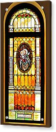 Acrylic Print featuring the photograph St Joseph Immaculate Conception San Diego by Christine Till