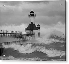 St. Joseph North Pier Lighthouse Acrylic Print
