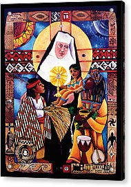 St. Katharine Drexel - Mmkdr Acrylic Print