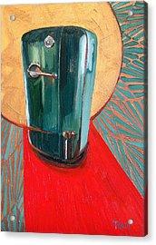 St. Kelvinator Acrylic Print by Jennie Traill Schaeffer