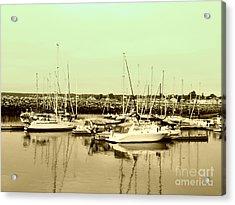 St. Lawrence Seaway Marina Acrylic Print