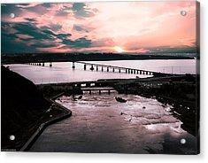 St. Lawrence Sunset Acrylic Print