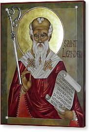 St Leander Acrylic Print