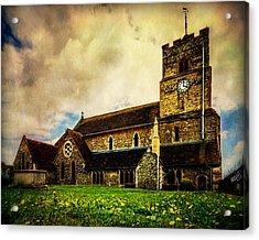 St. Leonard's Church Acrylic Print by Chris Lord