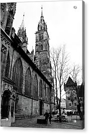 St. Lorenz Cathedral Acrylic Print