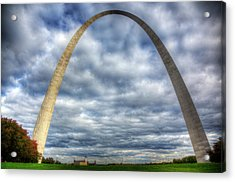 St. Louis Arch Acrylic Print by Shawn Everhart