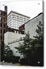 St. Louis Architecture. Downtown St. Louis. Acrylic Print by Dylan Murphy