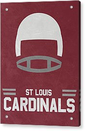 St Louis Cardinals Vintage Art Acrylic Print