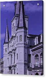 St. Louis Cathedral 2 Acrylic Print by Garry Gay