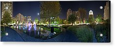St. Louis City Garden Panorama Acrylic Print