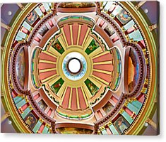 St Louis Old Courthouse Dome Acrylic Print