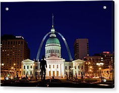 Acrylic Print featuring the photograph St. Louis by Steve Stuller