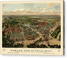 St. Louis Worlds Fair 1904 Acrylic Print