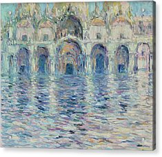 st-Marco square- Venice Acrylic Print