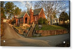 St Marks Episcopal Church Copperhill Tennessee Acrylic Print