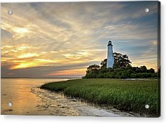 St. Mark's Lighthouse Acrylic Print