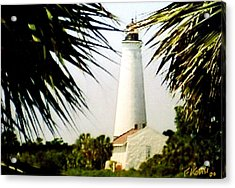 St Marks Lighthouse Acrylic Print by Frederic Kohli