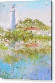 St Marks Lighthouse Acrylic Print