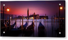 Acrylic Print featuring the photograph St. Marks Panorama by Andrew Soundarajan