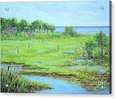 St. Marks Refuge I - Summer Acrylic Print