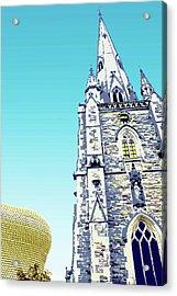 St Martins And Selfridges Acrylic Print