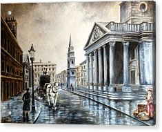 St Martins London Acrylic Print