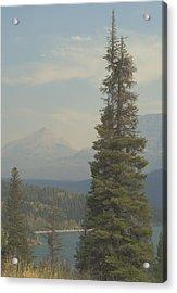 St. Mary Lake, Glacier, Montana Acrylic Print by Joseph Thiebes