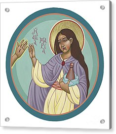 Acrylic Print featuring the painting St Mary Magdalen  Rabboni -  John 20 16 by William Hart McNichols