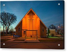 St. Mary Magdalene Anglican Acrylic Print by Bryan Scott