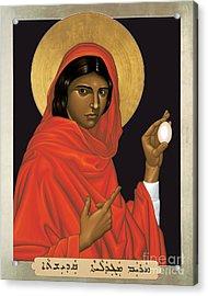 St. Mary Magdalene - Rlmam Acrylic Print