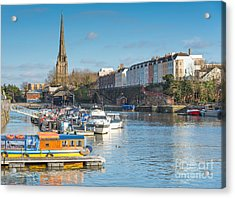 St Mary Redcliffe Church, Bristol Acrylic Print