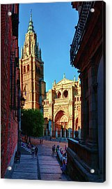 St Mary's Cathedral - Catholic Cathedral In Toledo, Chair Of The Primate Of Spain, The Main Cathedra Acrylic Print
